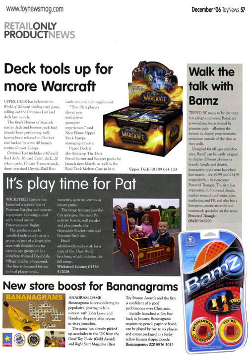 Retail Only Product News - Bananagrams