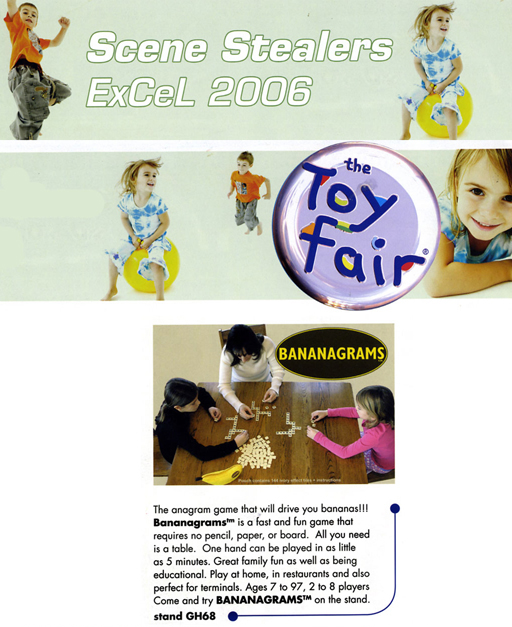 "February 2006 Giftware Review ""Next Big Thing"" March, 2006 Toys n' Playthings"